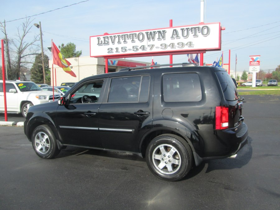 2011 Honda Pilot 4WD 4dr Touring w/RES & Navi, available for sale in Levittown, Pennsylvania   Levittown Auto. Levittown, Pennsylvania