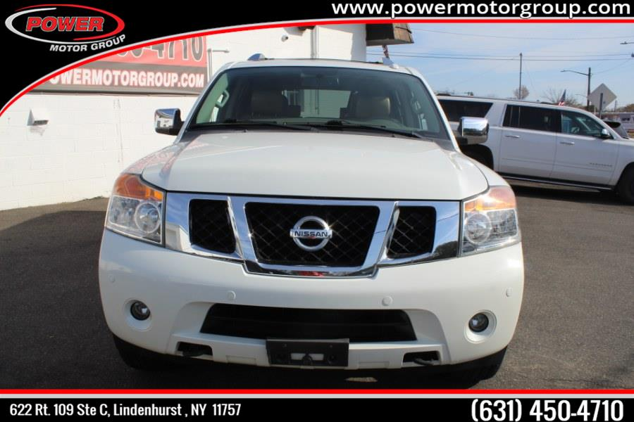 2014 Nissan Armada 4WD 4dr Platinum, available for sale in Lindenhurst , New York | Power Motor Group. Lindenhurst , New York