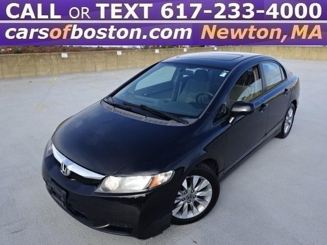 2009 Honda Civic Sedan 4dr Auto EX, available for sale in Newton, Massachusetts | Motorcars of Boston. Newton, Massachusetts