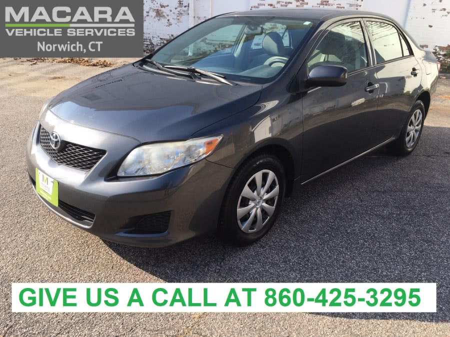 Used Toyota Corolla 4dr Sdn Auto LE 2009 | MACARA Vehicle Services, Inc. Norwich, Connecticut