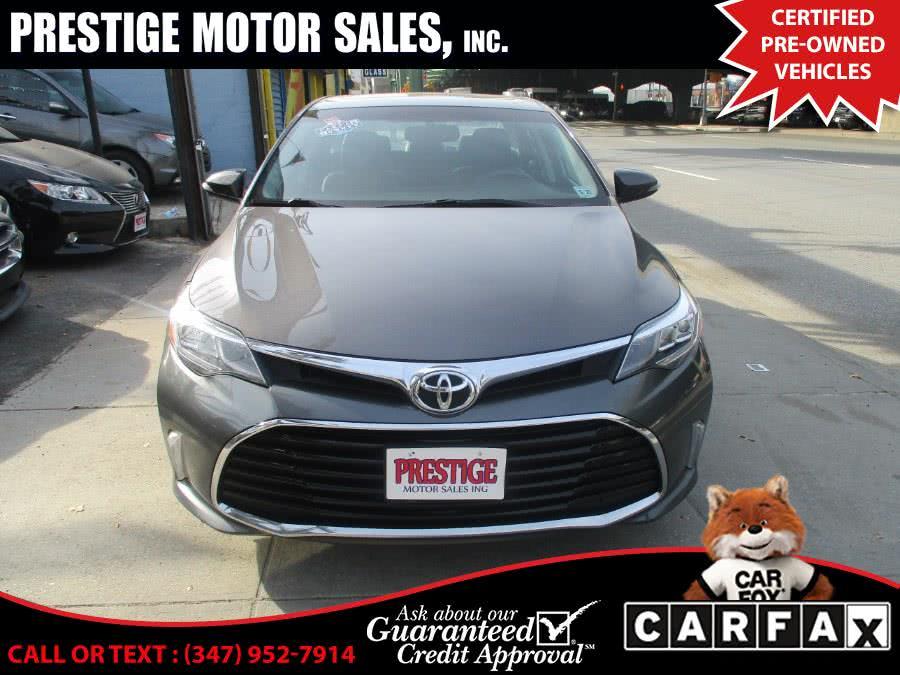 Used 2016 Toyota Avalon in Brooklyn, New York | Prestige Motor Sales Inc. Brooklyn, New York