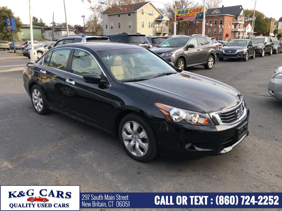Used Honda Accord Sdn 4dr V6 Auto EX-L 2008 | K and G Cars . New Britain, Connecticut