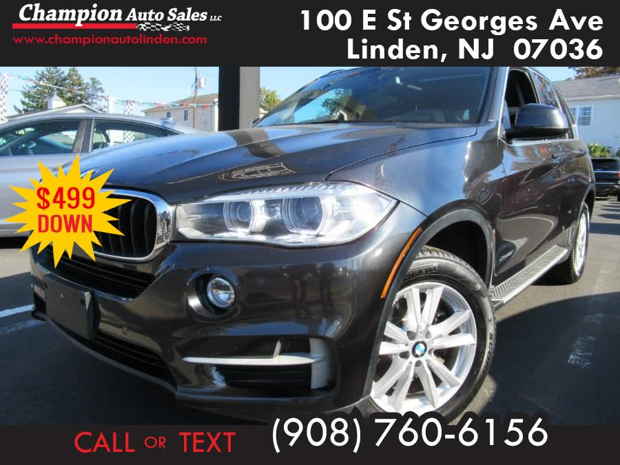 Used 2015 BMW X5 in Linden, New Jersey | Champion Used Auto Sales. Linden, New Jersey