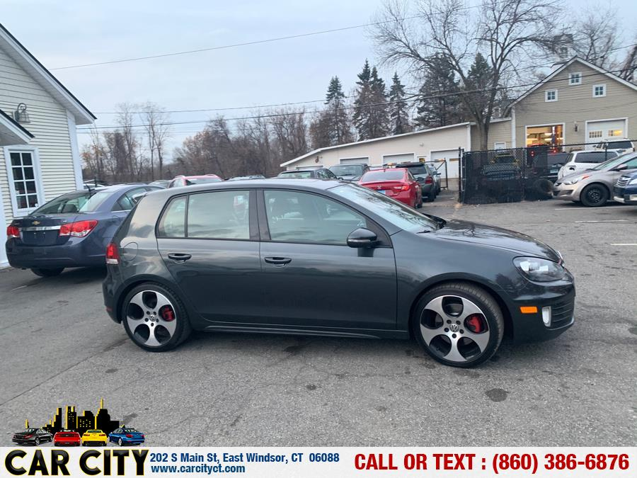 2011 Volkswagen GTI 4dr HB DSG w/Sunroof, available for sale in East Windsor, Connecticut | Car City LLC. East Windsor, Connecticut