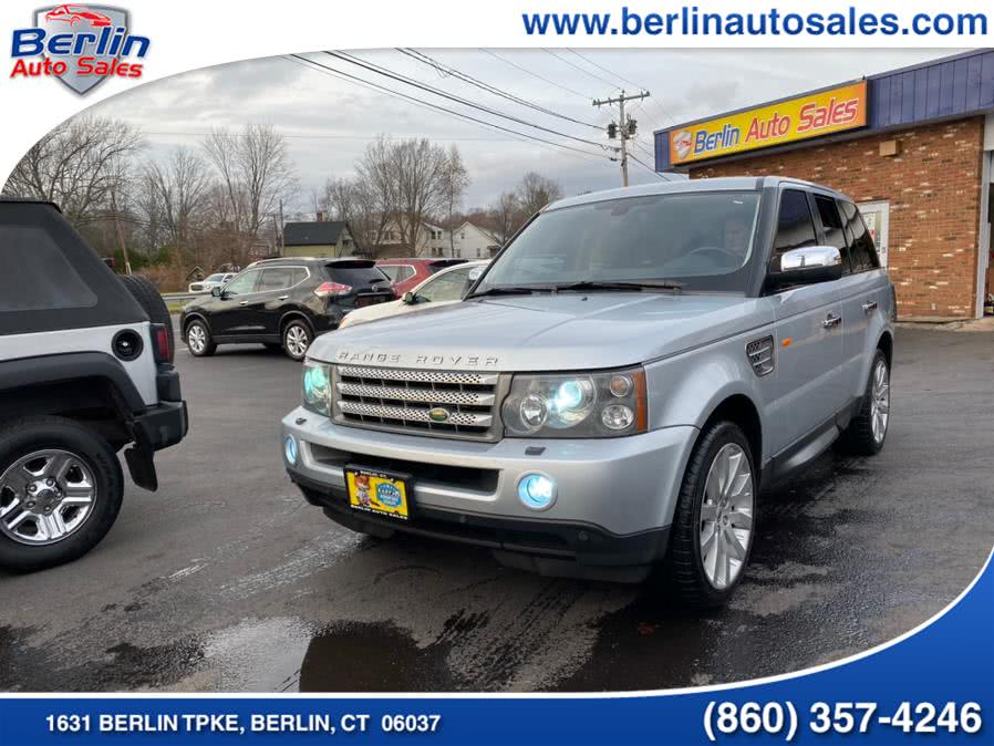 2006 Land Rover Range Rover Sport 4dr Wgn SC, available for sale in Berlin, Connecticut | Berlin Auto Sales LLC. Berlin, Connecticut