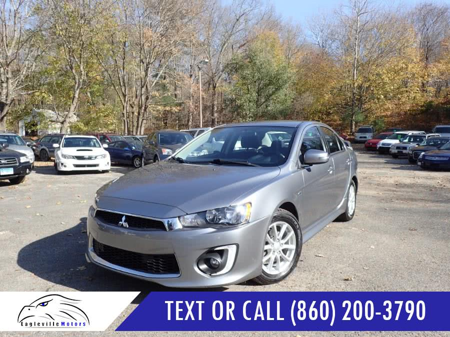 Used 2016 Mitsubishi Lancer in Storrs, Connecticut | Eagleville Motors. Storrs, Connecticut