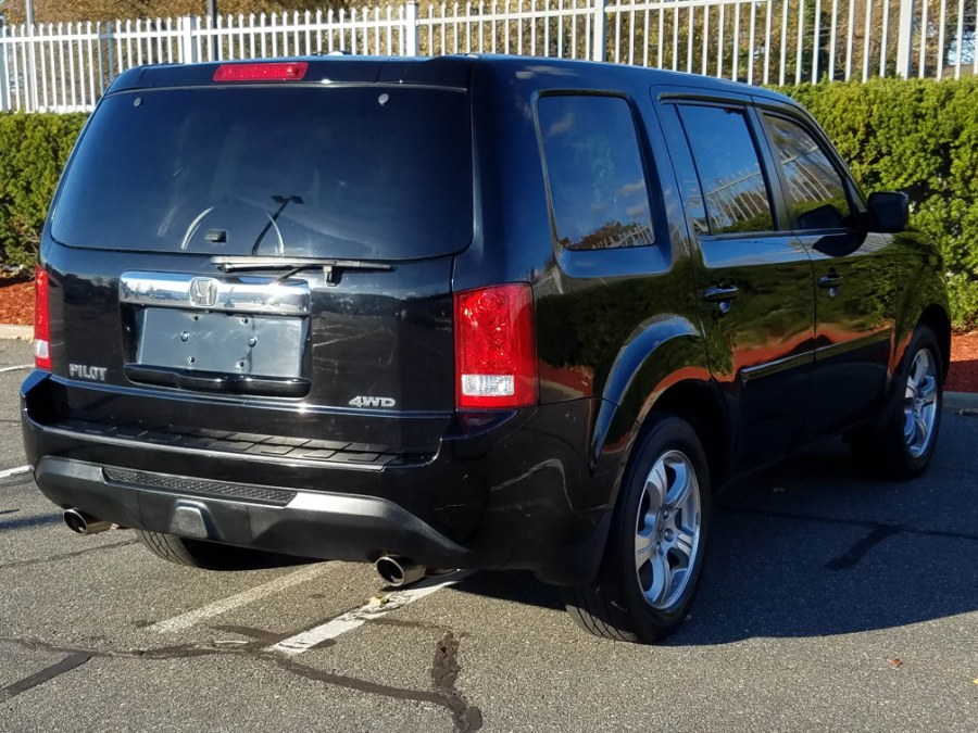2012 Honda Pilot 4WD 4dr EX-L w/Leather,Sunroof,Backup Camera,DVD, available for sale in Queens, NY