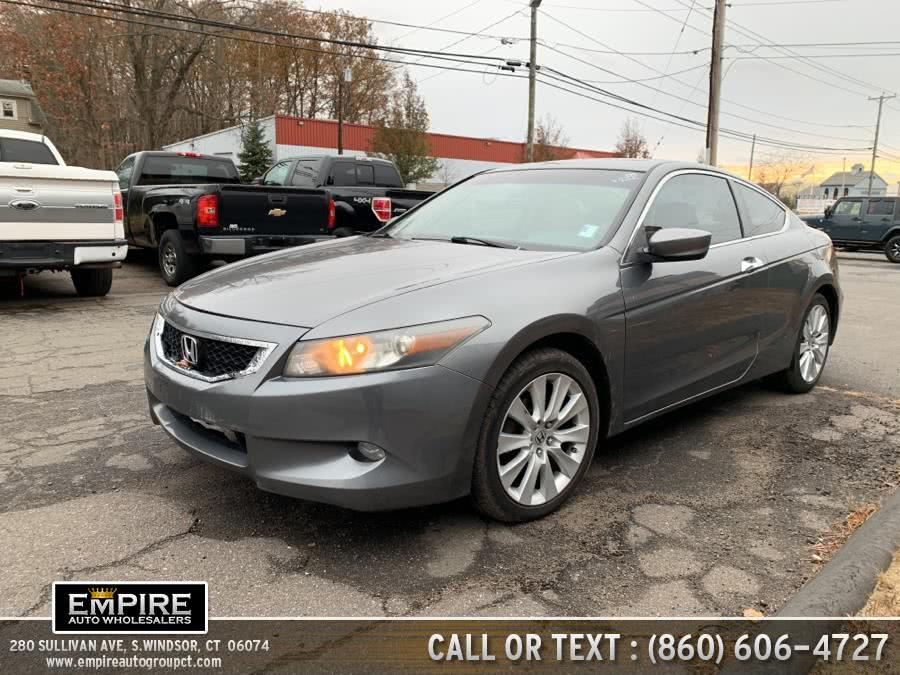 Used 2008 Honda Accord Cpe in S.Windsor, Connecticut | Empire Auto Wholesalers. S.Windsor, Connecticut