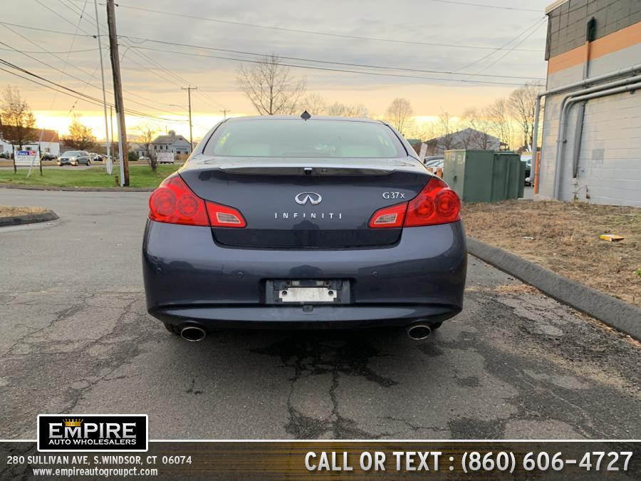 2012 Infiniti G37 Sedan 4dr x AWD, available for sale in S.Windsor, Connecticut | Empire Auto Wholesalers. S.Windsor, Connecticut