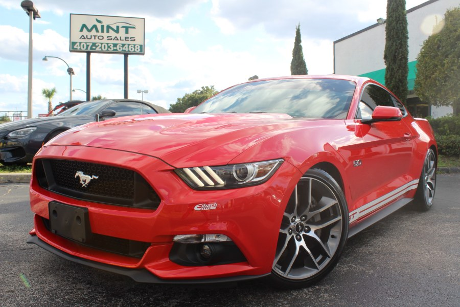 2015 Ford Mustang GT w/NAV 2dr Cpe Auto, available for sale in Orlando, Florida | Mint Auto Sales. Orlando, Florida