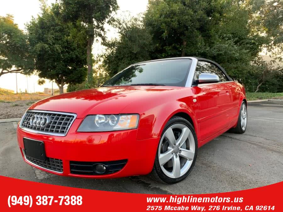 Used 2005 Audi S4 in Irvine, California | High Line Motors LLC. Irvine, California