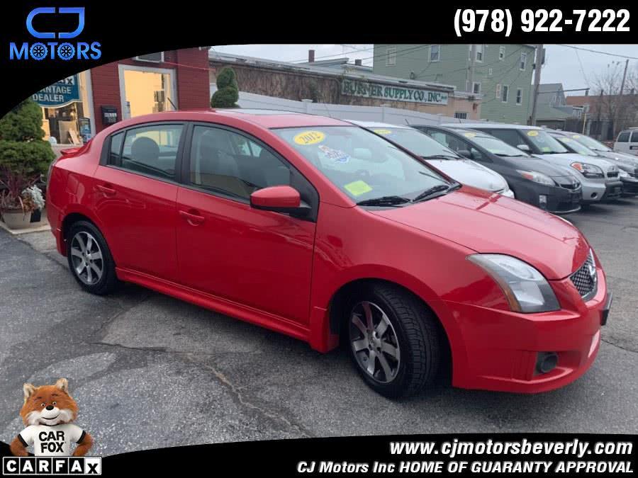 Used 2012 Nissan Sentra in Beverly, Massachusetts | CJ Motors Inc. Beverly, Massachusetts