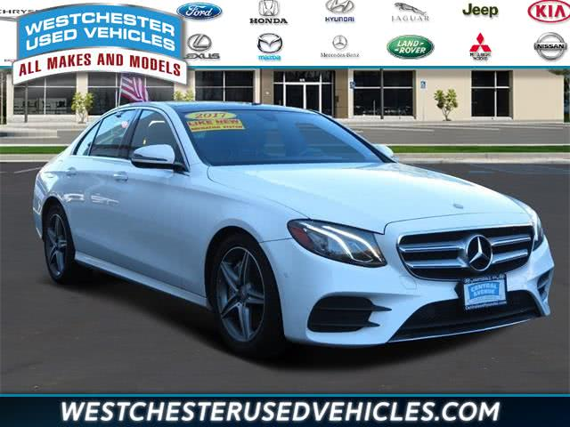 Used 2017 Mercedes-benz E-class in White Plains, New York | Westchester Used Vehicles . White Plains, New York