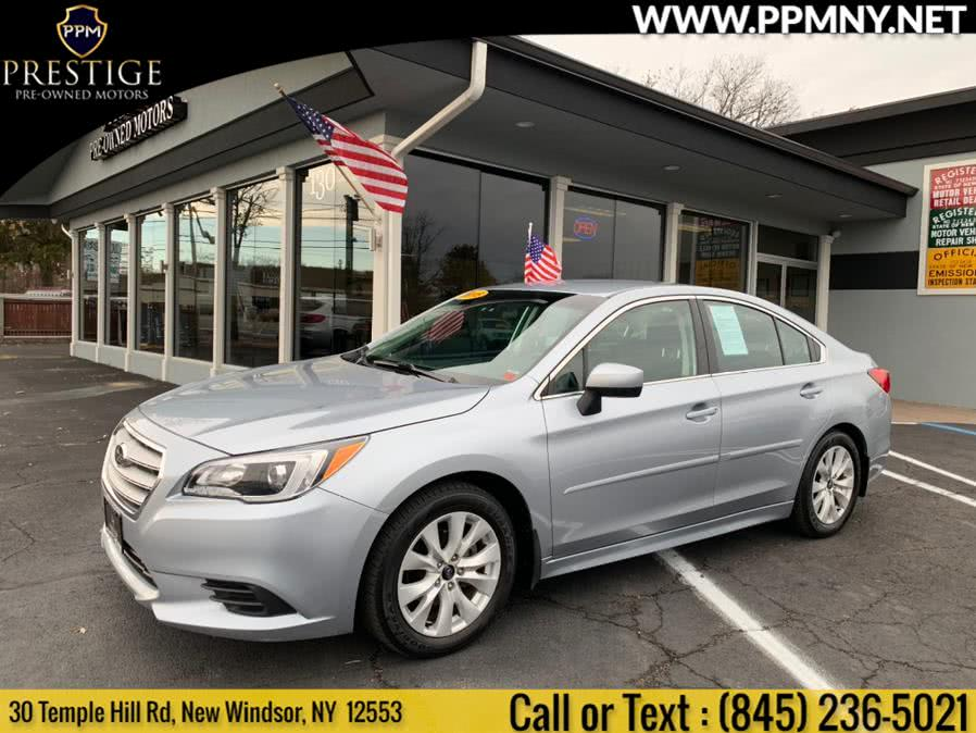 2015 Subaru Legacy 4dr Sdn 2.5i Premium PZEV, available for sale in New Windsor, NY
