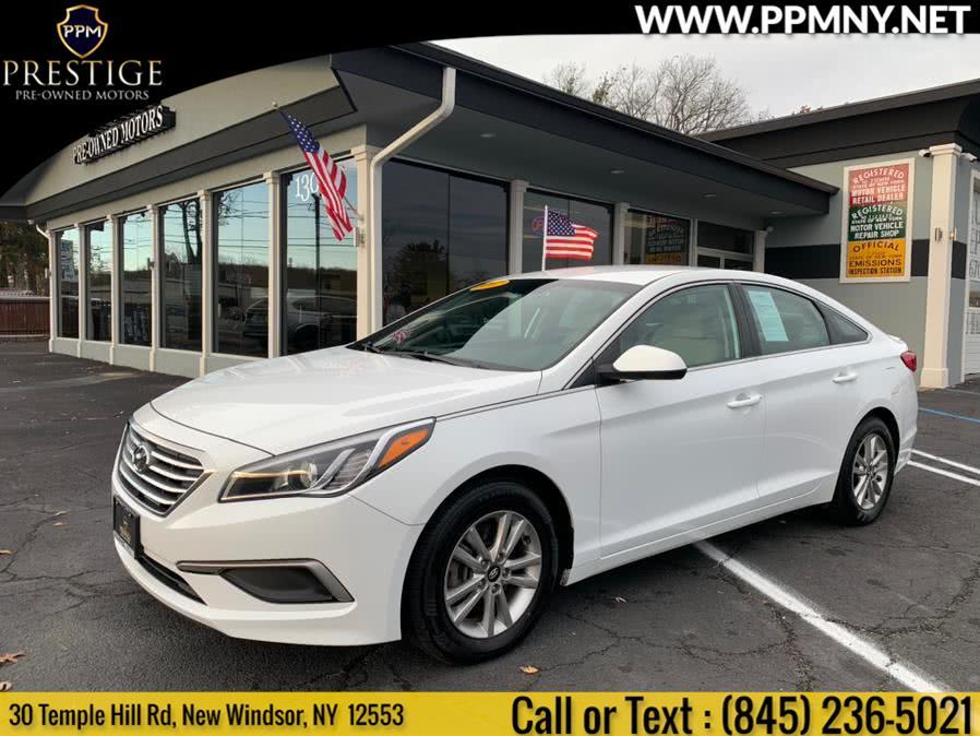 Used 2017 Hyundai Sonata in New Windsor, New York   Prestige Pre-Owned Motors Inc. New Windsor, New York