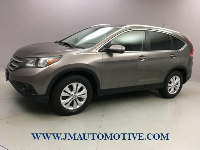 2014 Honda Cr-v AWD 5dr EX-L w/Navi, available for sale in Naugatuck, Connecticut | J&M Automotive Sls&Svc LLC. Naugatuck, Connecticut