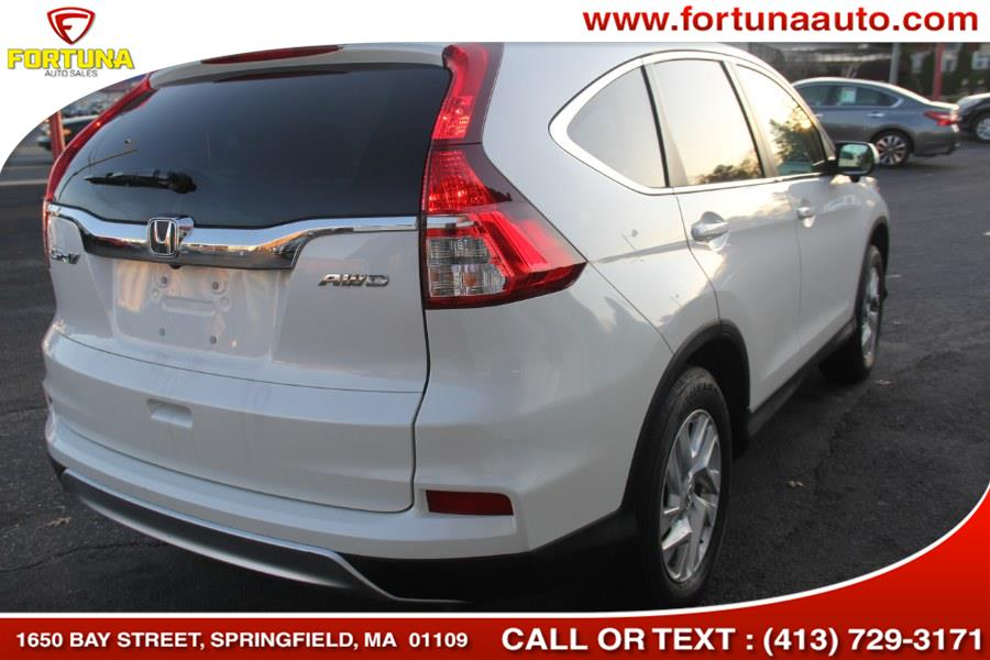 2016 Honda CR-V AWD 5dr EX, available for sale in Springfield, Massachusetts | Fortuna Auto Sales Inc.. Springfield, Massachusetts