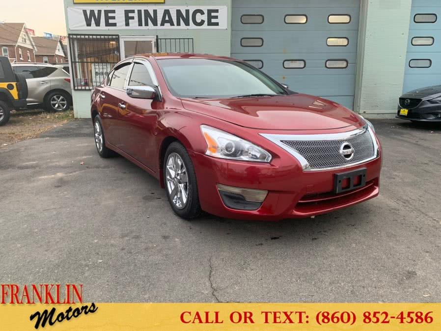 Used 2014 Nissan Altima in Hartford, Connecticut | Franklin Motors Auto Sales LLC. Hartford, Connecticut