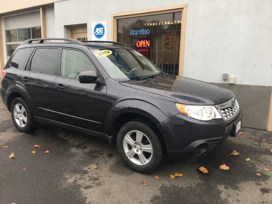 2012 Subaru Forester 4dr Auto 2.5X, available for sale in Bristol, Connecticut | Bristol Auto Center LLC. Bristol, Connecticut