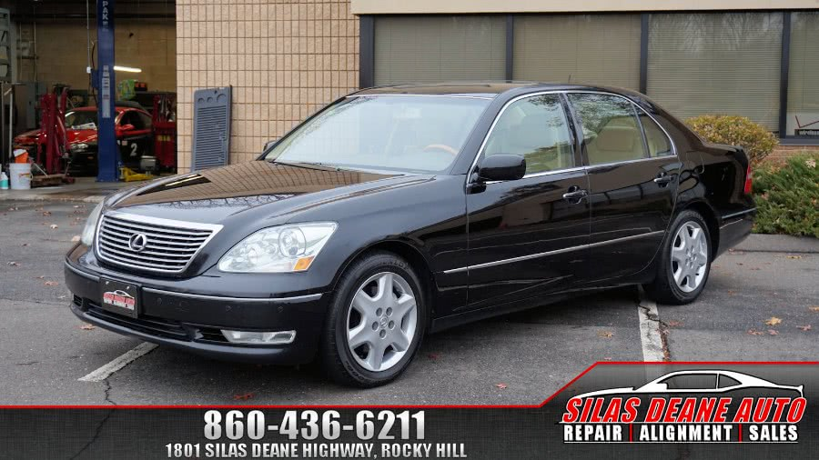 Used 2004 Lexus LS 430 in Rocky Hill , Connecticut | Silas Deane Auto LLC. Rocky Hill , Connecticut