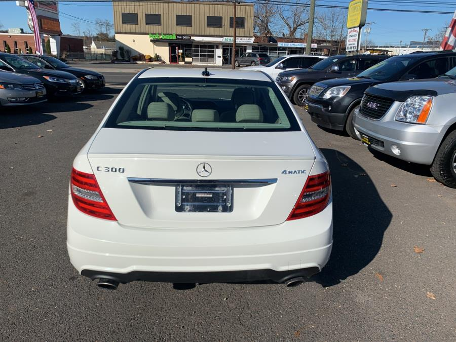 2012 Mercedes-Benz C-Class 4dr Sdn C300 Sport 4MATIC, available for sale in West Hartford, Connecticut | Auto Store. West Hartford, Connecticut