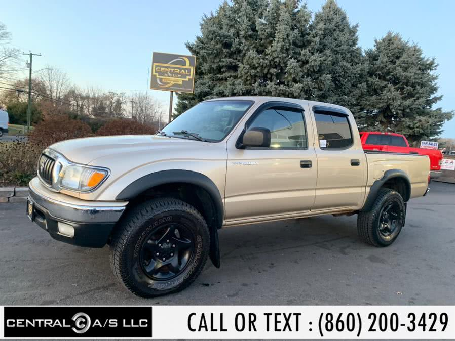 Used Toyota Tacoma DoubleCab V6 Auto 4WD (GS) 2002 | Central A/S LLC. East Windsor, Connecticut