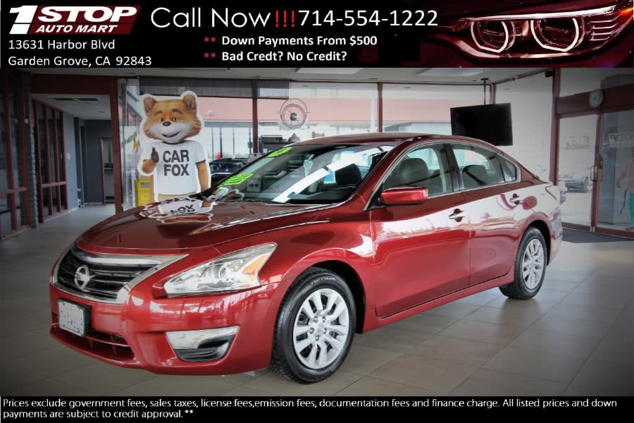 Used 2014 Nissan Altima in Garden Grove, California | 1 Stop Auto Mart Inc.. Garden Grove, California
