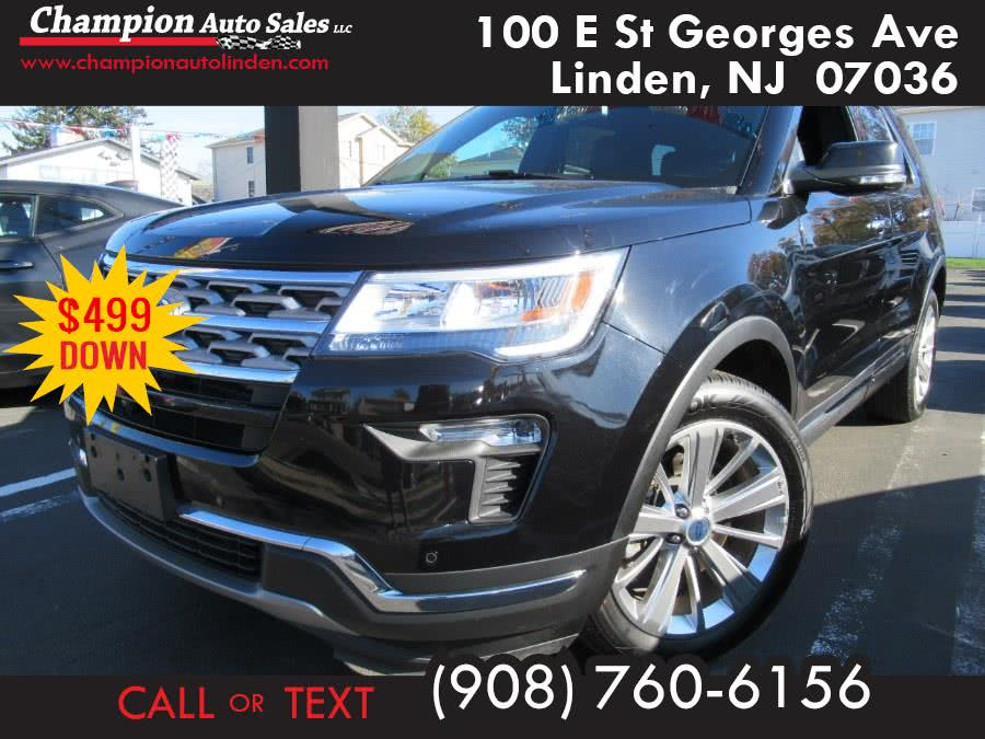 Used 2019 Ford Explorer in Linden, New Jersey | Champion Used Auto Sales. Linden, New Jersey