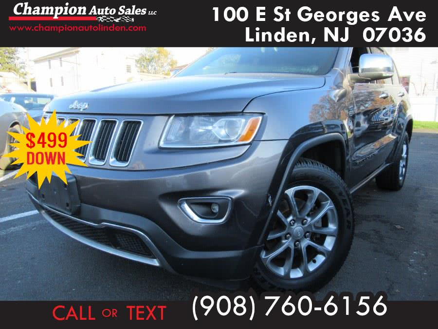 Used 2014 Jeep Grand Cherokee in Linden, New Jersey   Champion Used Auto Sales. Linden, New Jersey