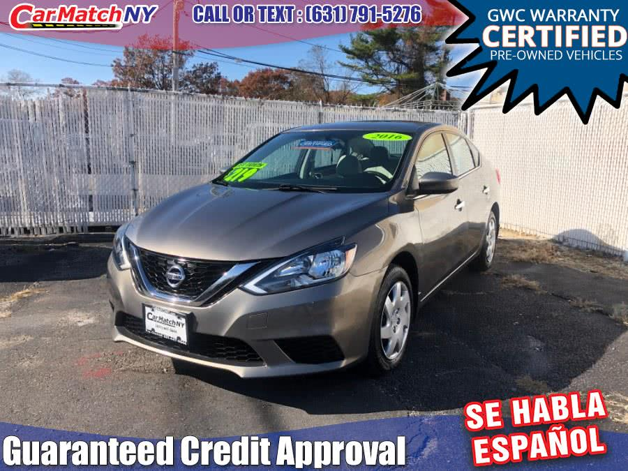 Used 2016 Nissan Sentra in Bayshore, New York | Carmatch NY. Bayshore, New York
