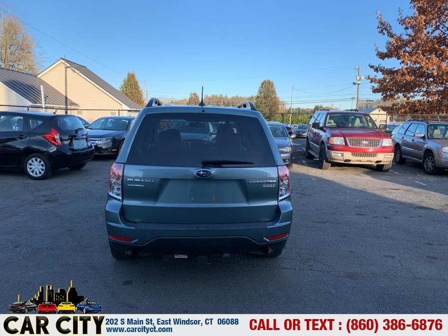 Used Subaru Forester 4dr Auto 2.5X Premium PZEV 2012 | Car City LLC. East Windsor, Connecticut