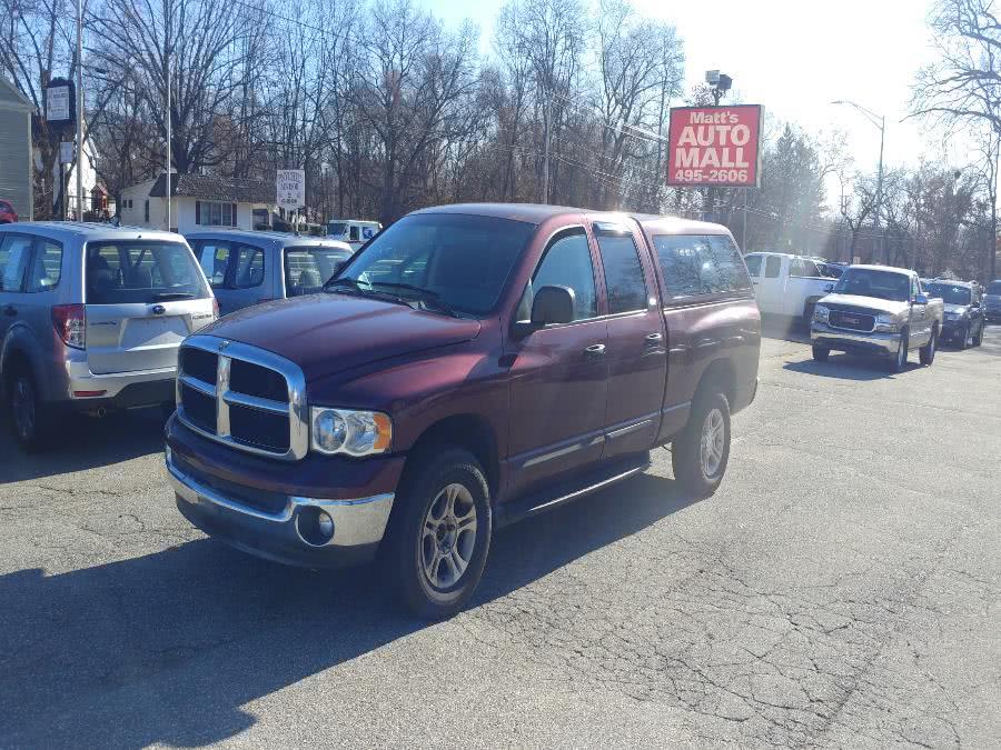 Used 2002 Dodge Ram 1500 in Chicopee, Massachusetts   Matts Auto Mall LLC. Chicopee, Massachusetts