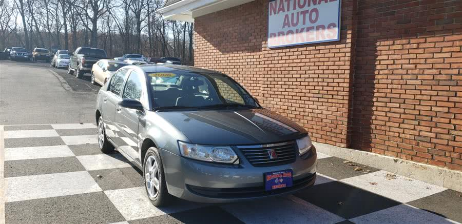 Used Saturn Ion 4dr Sdn Auto 2006 | National Auto Brokers, Inc.. Waterbury, Connecticut