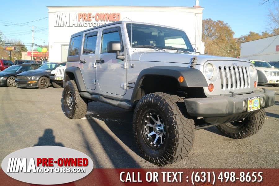 Used 2012 Jeep Wrangler Unlimited in Huntington, New York | M & A Motors. Huntington, New York
