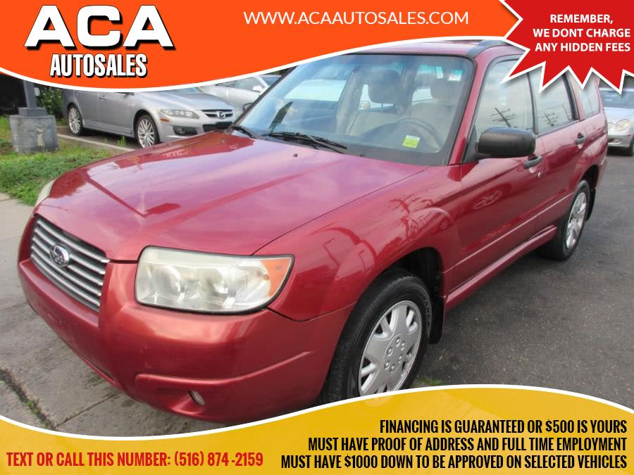 Used 2008 Subaru Forester in Lynbrook, New York | ACA Auto Sales. Lynbrook, New York
