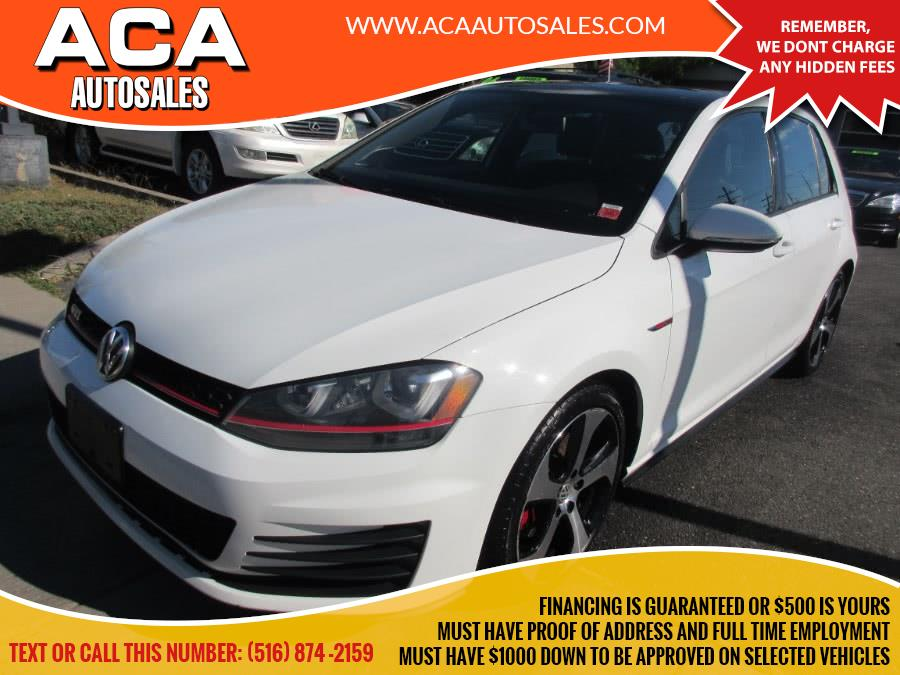 Used 2015 Volkswagen Golf GTI in Lynbrook, New York | ACA Auto Sales. Lynbrook, New York