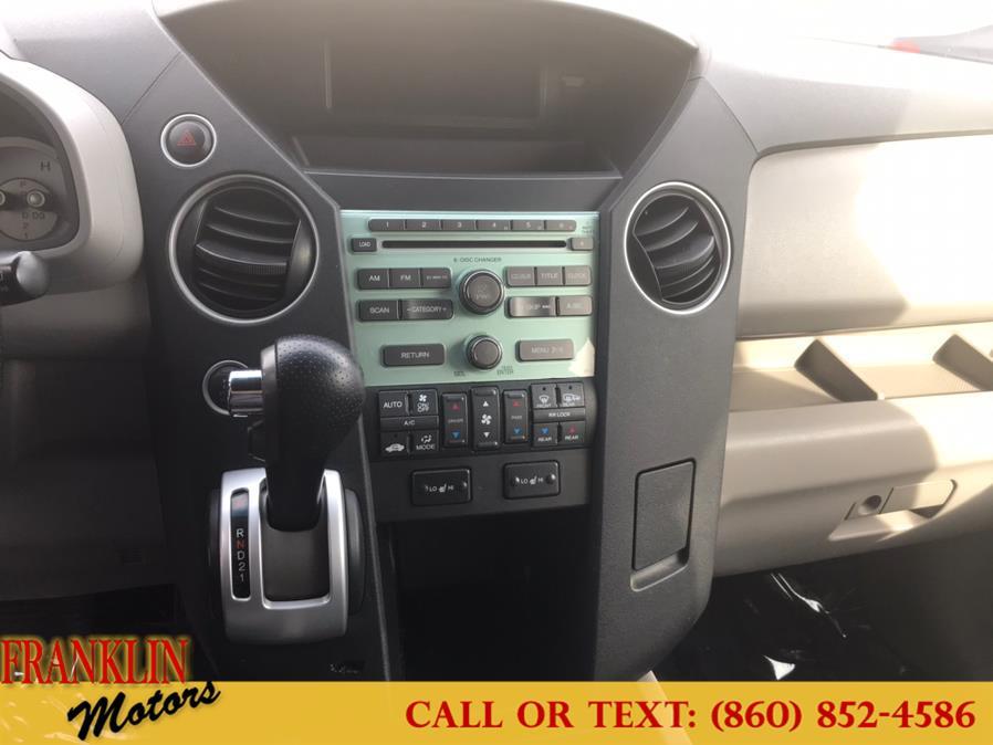 Used Honda Pilot 4WD 4dr EX-L 2010 | Franklin Motors Auto Sales LLC. Hartford, Connecticut