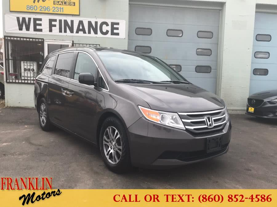 Used 2013 Honda Odyssey in Hartford, Connecticut | Franklin Motors Auto Sales LLC. Hartford, Connecticut