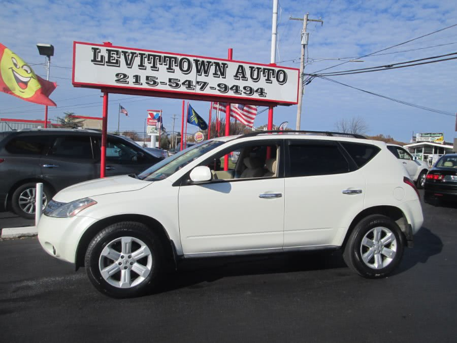 Used 2007 Nissan Murano in Levittown, Pennsylvania | Levittown Auto. Levittown, Pennsylvania