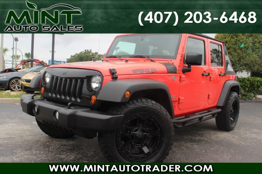 Used 2013 Jeep Wrangler Unlimited in Orlando, Florida   Mint Auto Sales. Orlando, Florida