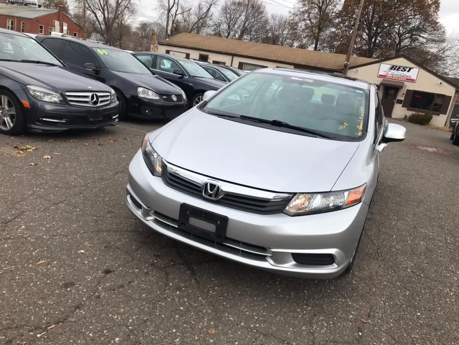Used 2012 Honda Civic Sdn in Manchester, Connecticut | Best Auto Sales LLC. Manchester, Connecticut