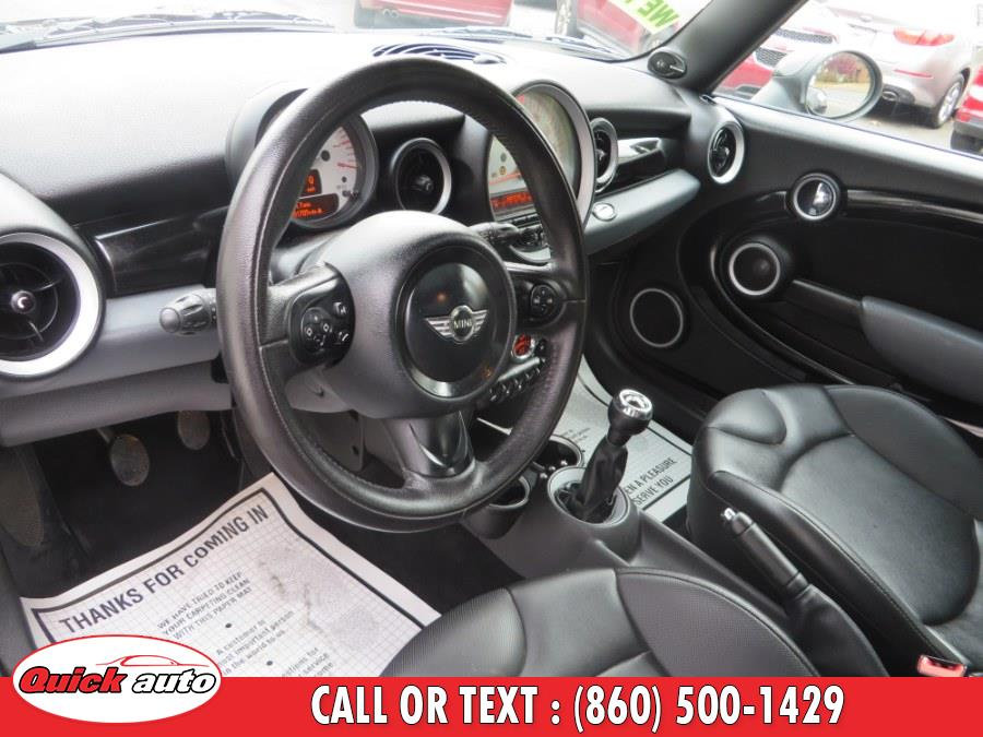 2012 MINI Cooper Clubman 2dr Cpe, available for sale in Bristol, Connecticut   Quick Auto LLC. Bristol, Connecticut