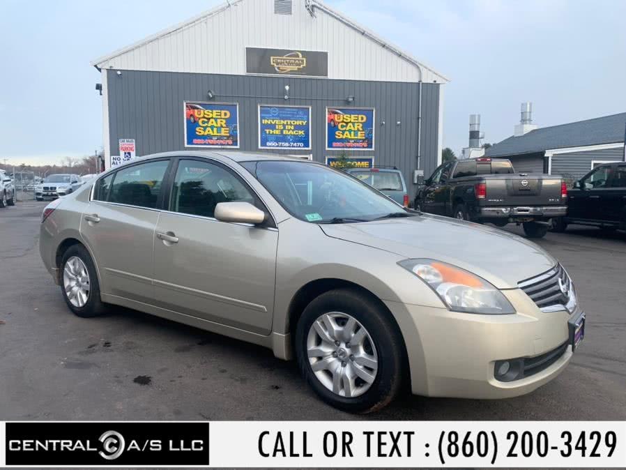 Used Nissan Altima 4dr Sdn I4 CVT 2.5 S 2009 | Central A/S LLC. East Windsor, Connecticut