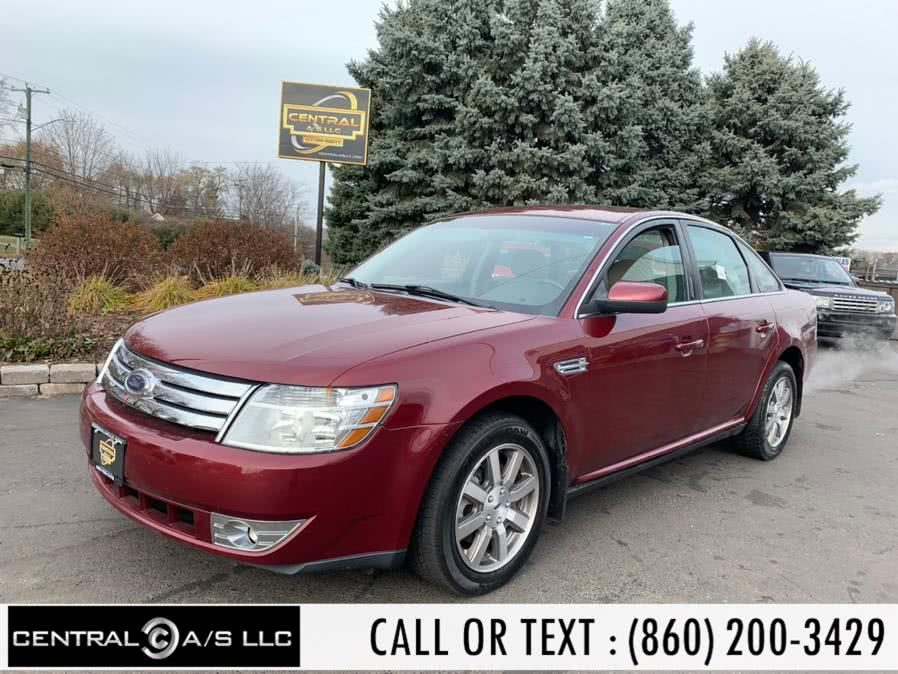 Used Ford Taurus 4dr Sdn SEL AWD 2008 | Central A/S LLC. East Windsor, Connecticut