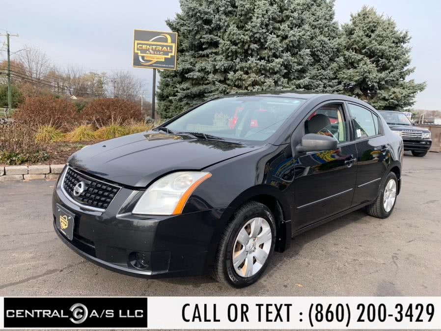 Used Nissan Sentra 4dr Sdn I4 CVT 2.0 S *Ltd Avail* 2009 | Central A/S LLC. East Windsor, Connecticut