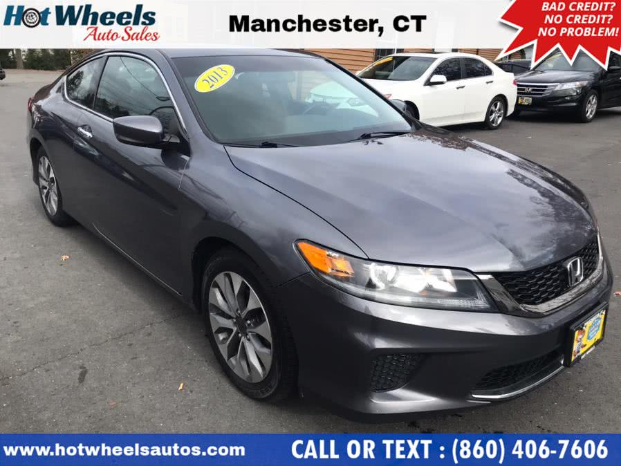 Used 2013 Honda Accord Cpe in Manchester, Connecticut | Hot Wheels Auto Sales LLC. Manchester, Connecticut