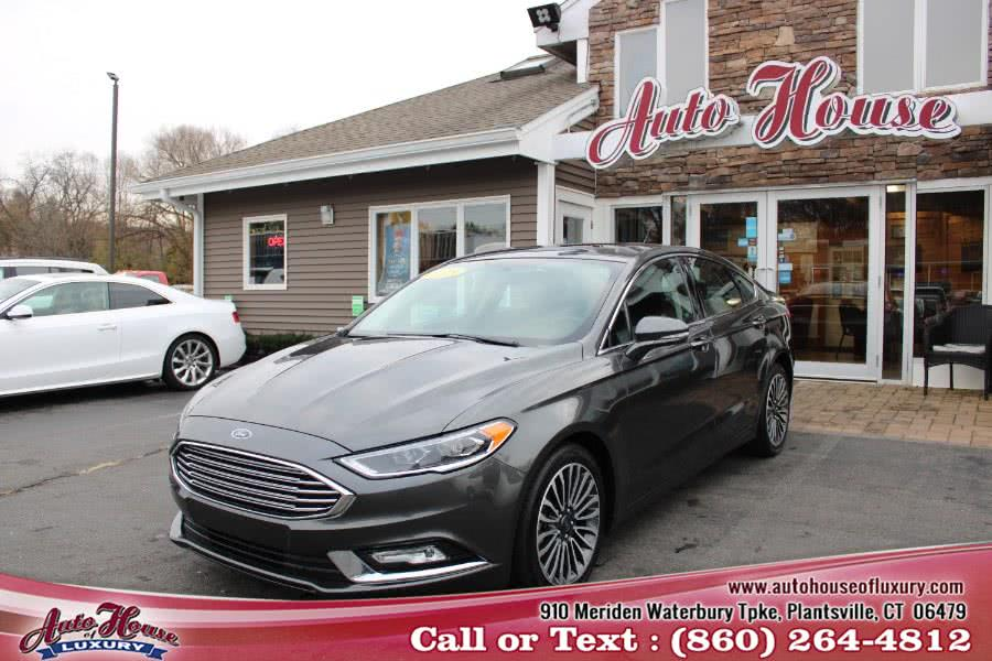 Used 2018 Ford Fusion in Plantsville, Connecticut | Auto House of Luxury. Plantsville, Connecticut