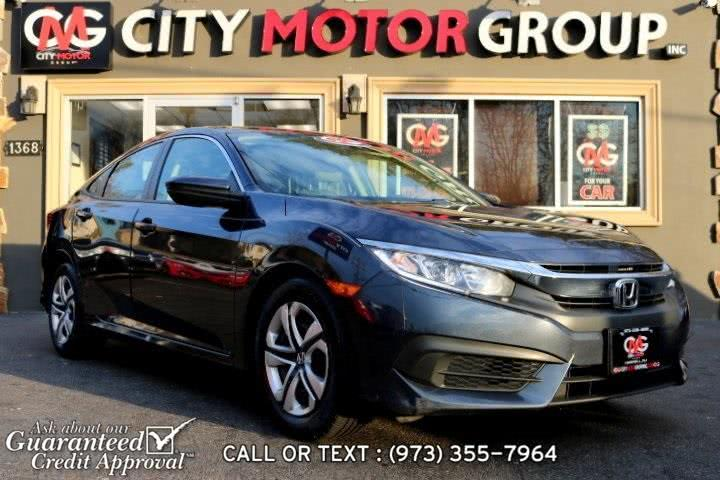 Used Honda Civic LX 2016 | City Motor Group Inc.. Haskell, New Jersey