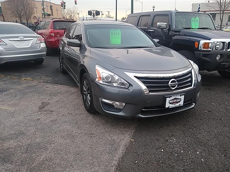 Used 2015 Nissan Altima in Hartford, Connecticut | Main Auto Sales LLC. Hartford, Connecticut
