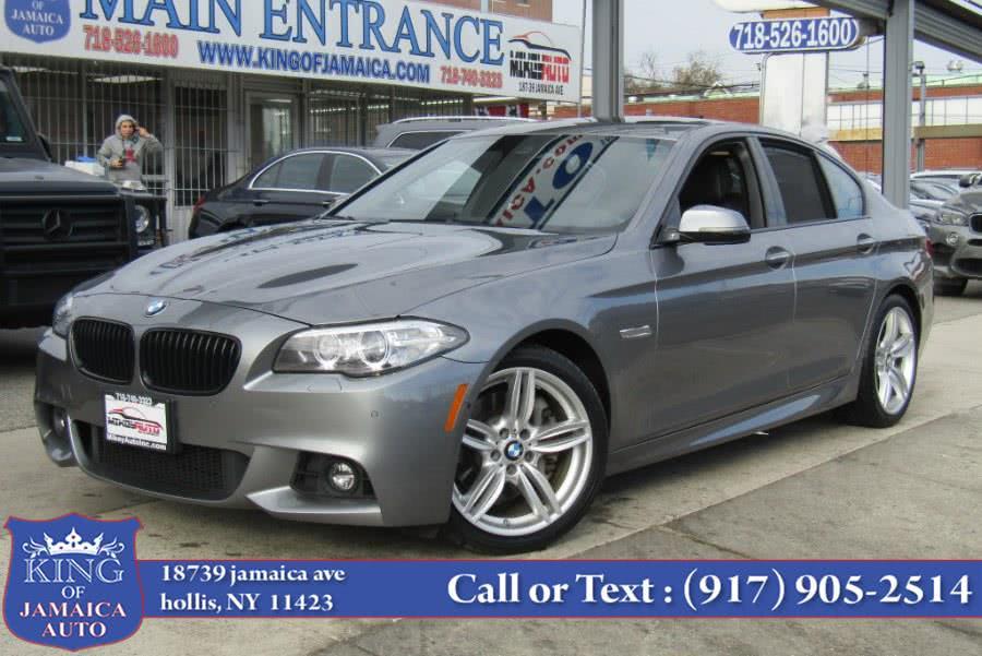 Used 2016 BMW 5 Series in Hollis, New York | King of Jamaica Auto Inc. Hollis, New York